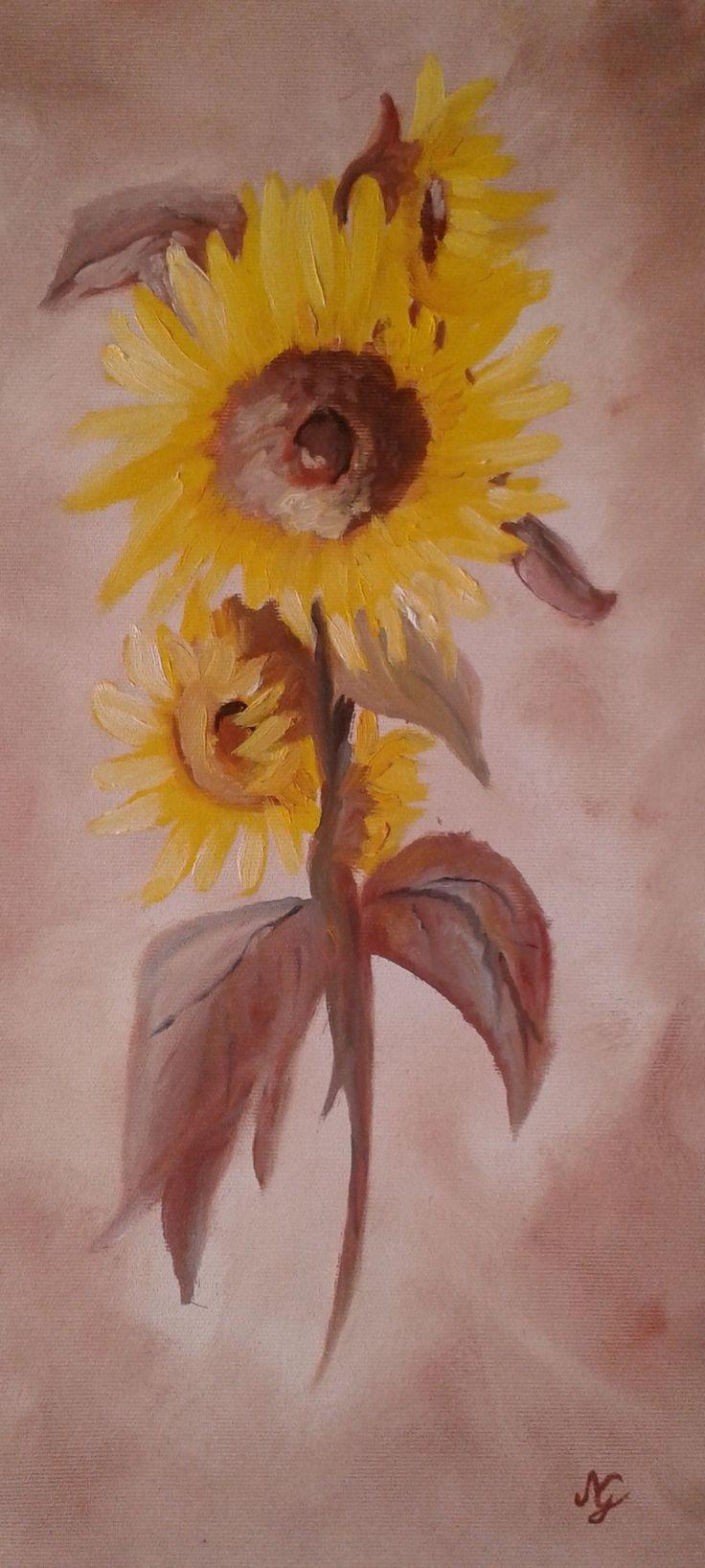 """""""A tündöklő Napraforgó mosolyog, Csodálja a pergő-forgó, Az a barnásan aranyló, A Fényt sugárzó Napot."""" (Kassai Csilla)"""