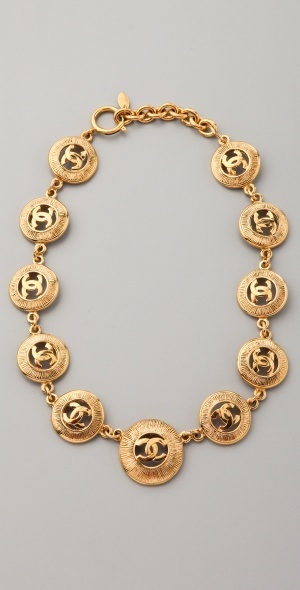 Classic Chanel CC Necklace