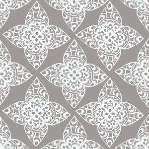 Ty Pennington Impressions Home Decor Fabric - Lace in Gray. $8.95, via Etsy.