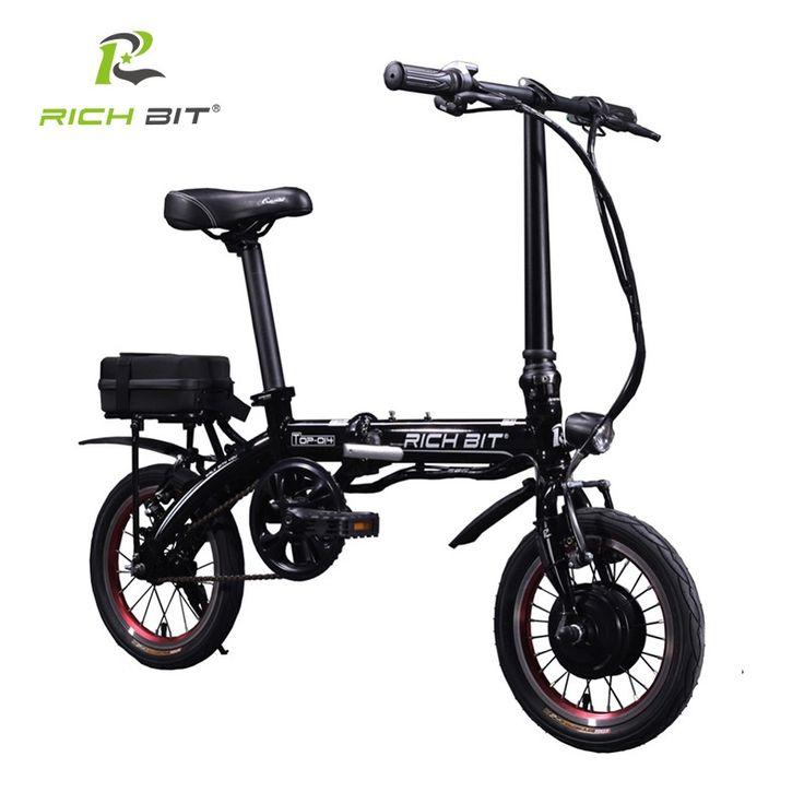 855.00$  Buy here  - Richbit 14 inch Mini Portable City Folding Electric Bike Mini Folding Bike 250W*36V Lithium Battery Electric Bike City Cycling