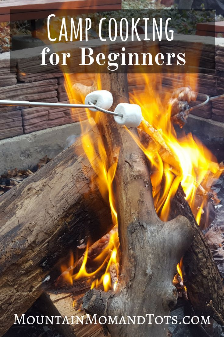 Beginner Camp Cooking Tips - Roast Marshmallows - Cook Over Coals - Preparing Food Outdoors - Camp Cooking for Beginners - How to Cook Over a Camp Fire #CampingwithKids #CampingHacks