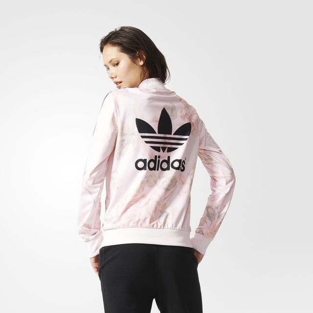 adidas originals pastel rose track top