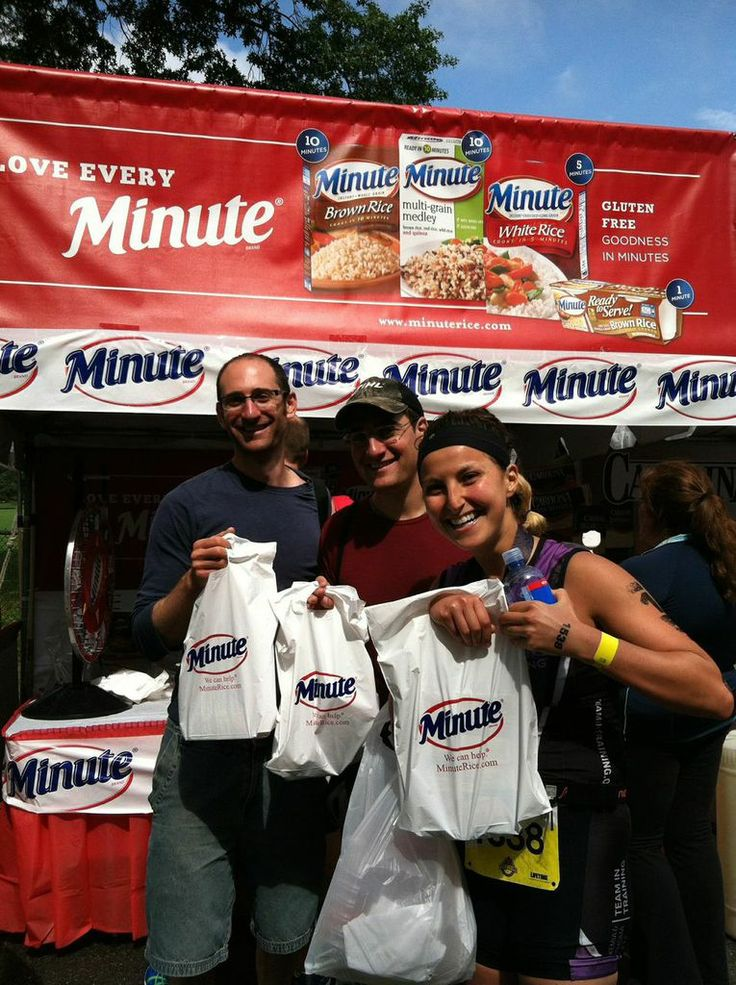 Thank you to everyone who stopped by our booth at the NYC Triathlon in Central Park! For more Multi-Grain Medley Rice #recipes, click on the image! #NYC #NYCTriathlon