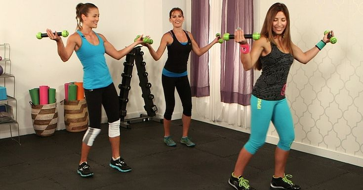 You don't need to be a rocking dancer to get a great workout with Zumba. Filled with Latin-inspired dance moves, it's easy to follow and fun! And now you can do our full-body Zumba toning workout in the comfort of your living room. Led by instructor