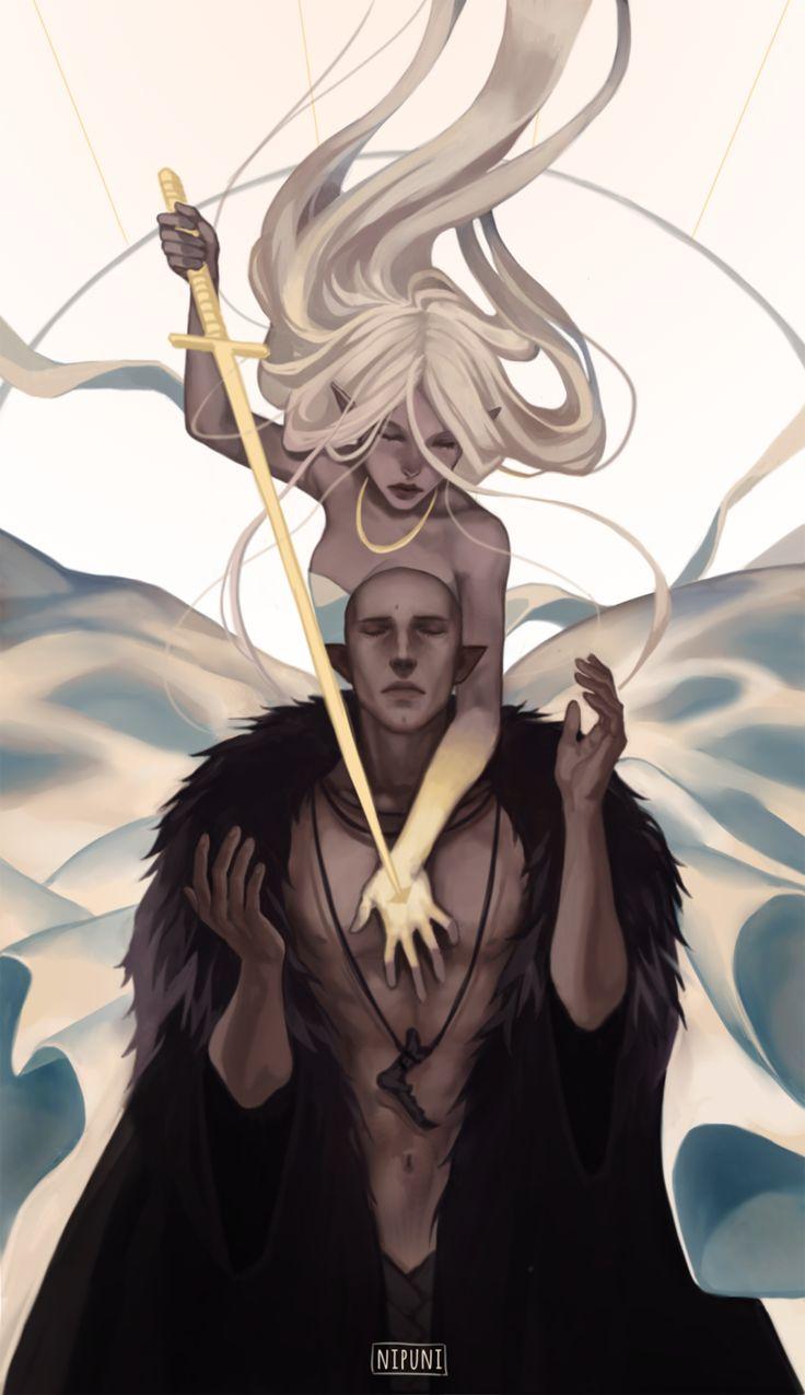 Dragon Age,фэндомы,DAI,DA персонажи,Солас,Инквизитор (DA),Nipuni