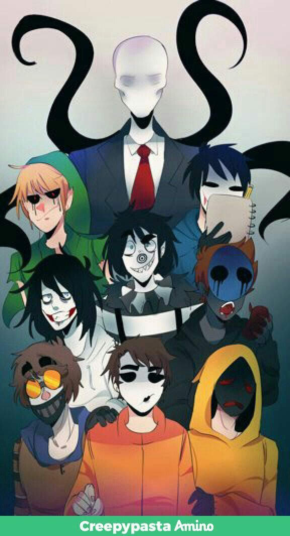 Slender Man Ben Bloody Painter Jeff The Killer Laughing Jack