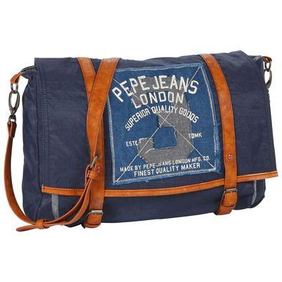 Pepe Jeans - Navy blue ripstop cordura bag - 39275