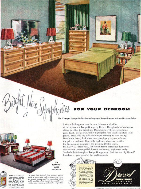 54 Best Mcm Drexel Furniture Images On Pinterest