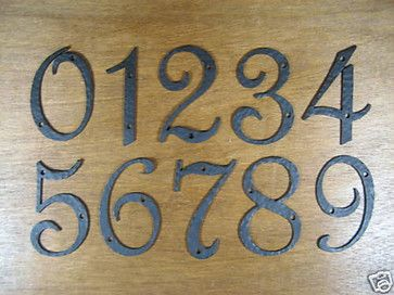 The 25 best mediterranean house numbers ideas on for Spanish style house numbers