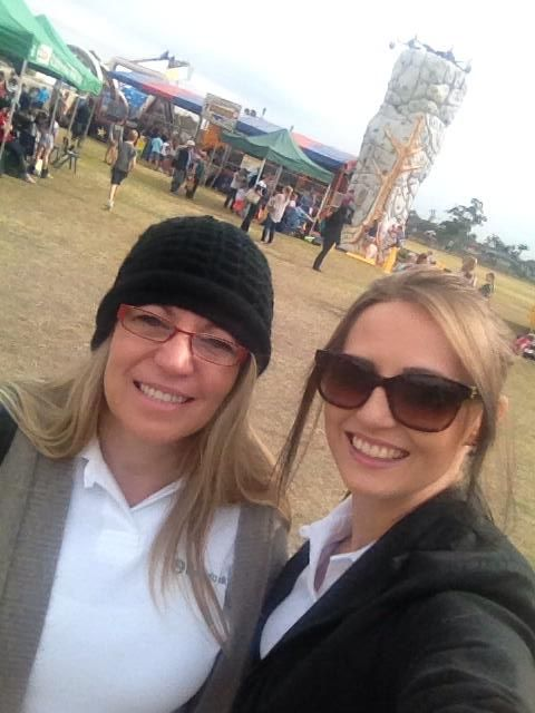 Karen W and Bec were at the St Anthony's Catholic School helping out at their annual fete
