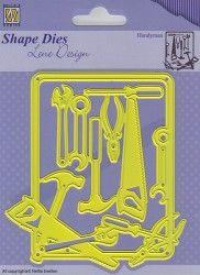 SDL040 Shape Dies Lene Design men things