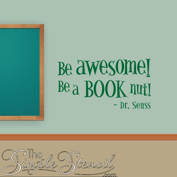 Most Popular Girls In School Quotes: 50 Best Library Wall Quote Decals & Removable Vinyl Wall