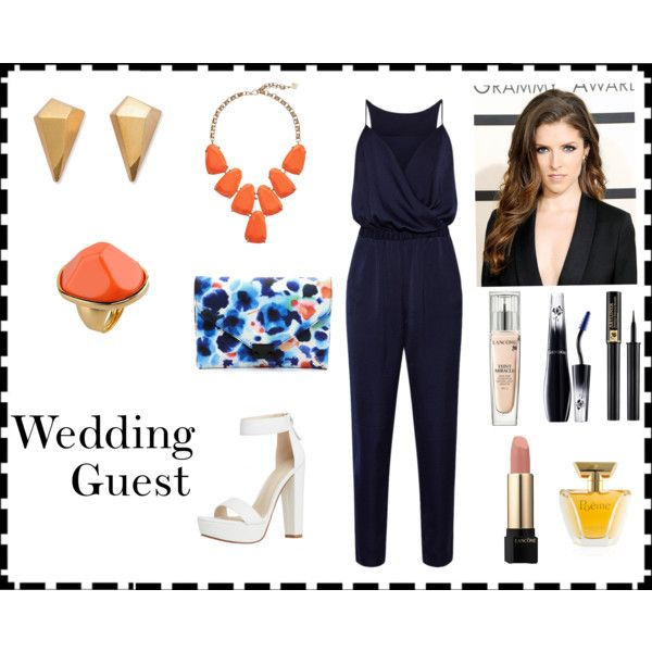 Wedding Guest: Jumpsuit by madelinecarol on Polyvore featuring Iris & Ink,  Loeffler Randall, - Best 25+ Wedding Guest Jumpsuits Ideas Only On Pinterest Wedding