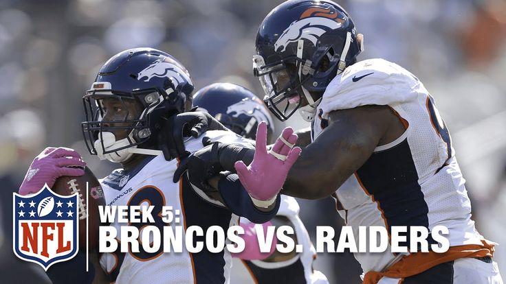 Von Miller's RIDICULOUS Sack and Strip! | Broncos vs. Raiders | NFL