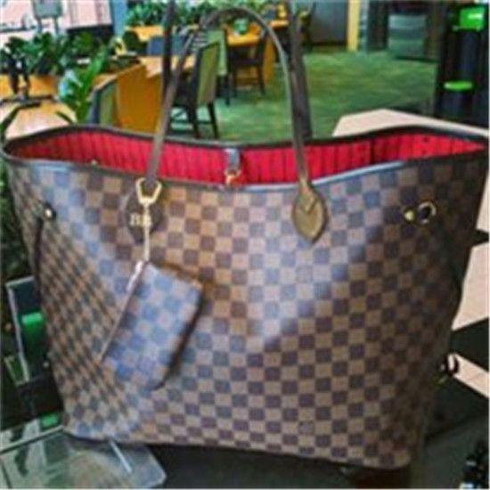 Brown Louis Vuitton Handbags Neverf
