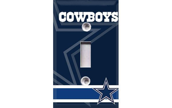 Dallas Cowboys Light Switch Cover By Crazy8zdecor On Etsy
