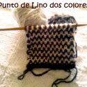 Punto de Lino dos colores Clase 65