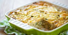 Think Cabbage Is Just for Coleslaw? Think Again! -- Cabbage Zucchini And Cheese Casserole (Quiche)