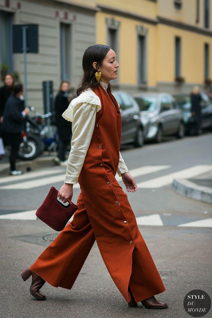 Milan Fashion Week Fall 2017 Street Style Rachael Wang