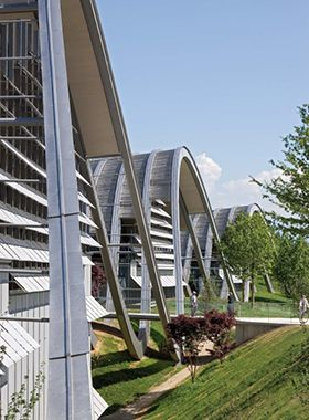Renzo Piano - Zentrum Paul Klee Bern, Switzerland