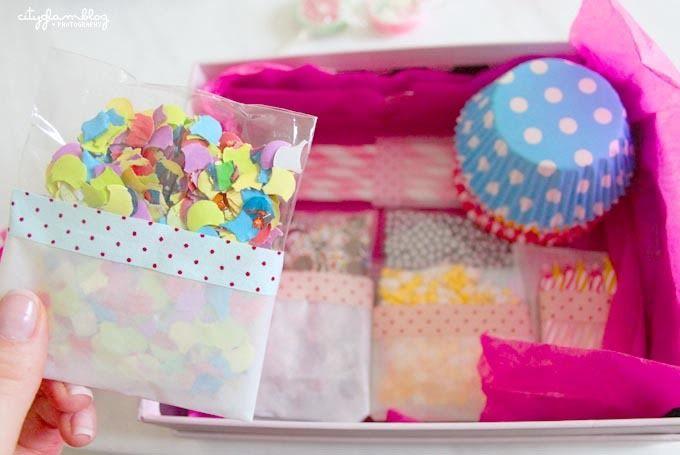 Cupcake-Überraschungspaket