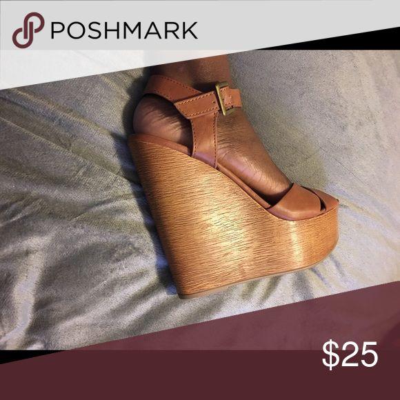 Shoedazzle wedges Shoedazzle wedges. Size 8.5. Shoes Wedges
