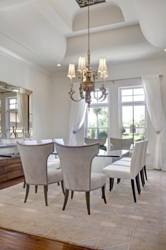 elegantDining Rooms, Chairs, Ceilings Details, Dining Room Tables, Interiors Design, Dinning Room, Diningroom, Dreams Dining Room, Dining Room Design