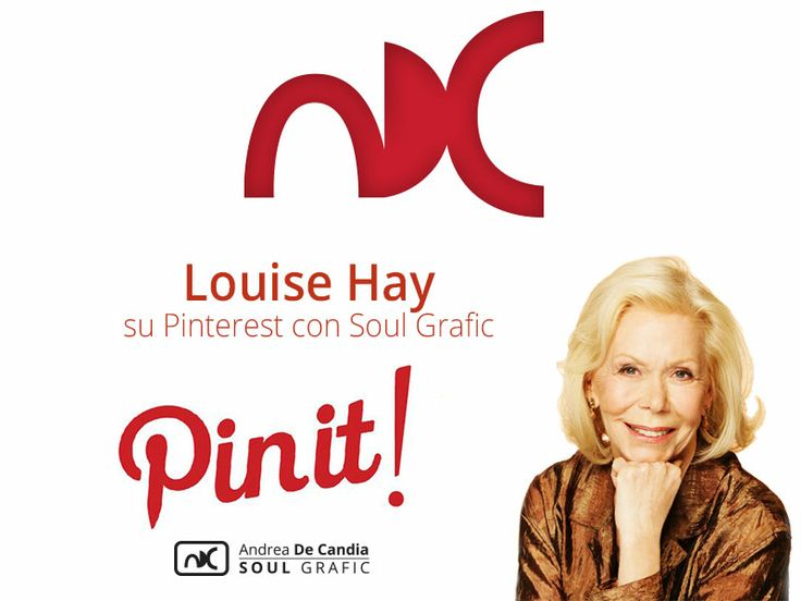 Questa è la copertina del board del catalogo di Louise Hay
