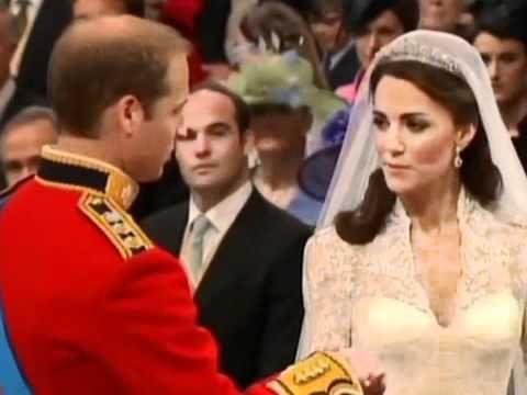 We can watch it again and again ... All of the royal wedding in just 2 minutes!