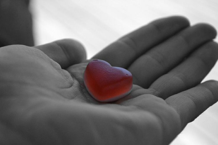 Holding my jelly heart