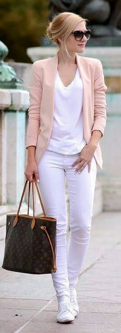 Like the style of this cardigan/blazer; not sure about the pink color but I'd like a lighter color