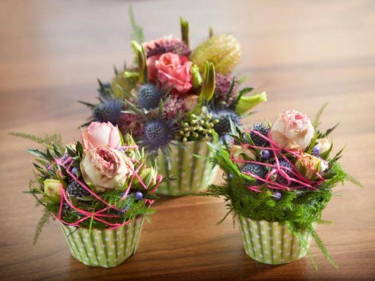 Echt prachtig deze bloemen cupcakes! Ook voor jou zijn deze binnen handbereik; www.fiory.nl