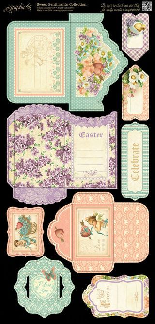 Sweet Sentiments Tags and Pockets 2 in stores in Mid-November! #graphic45 #newcollections
