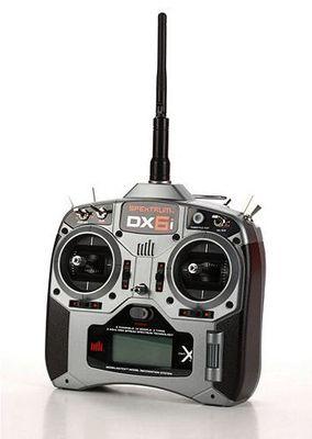 Spektrum DX6i DSM X Air - Heli AR6200, Mode 2 http://germanrc.pl/pl/p/Spektrum-DX6i-DSM-X-Air-Heli-AR6200%2C-Mode-2/3198