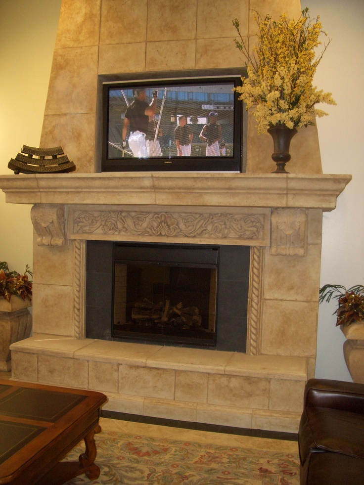 Fireplace Design tuscan fireplace : 12 best Fireplace images on Pinterest