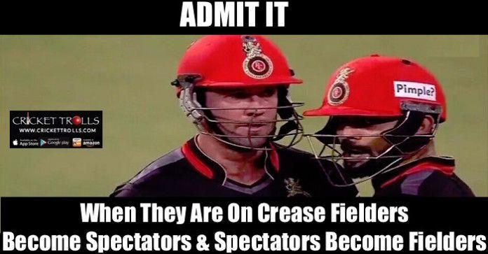 #VivoIPL #IPL2016 #RCBvsSRH #ViratKohli #ABdeVilliers  The destructive duo of IPL - Indian Premier League T20 Virat Kohli and AB de Villiers  http://www.crickettrolls.com/2016/04/12/the-destructive-duo-of-ipl-t20-virat-kohli-ab-de-villiers/
