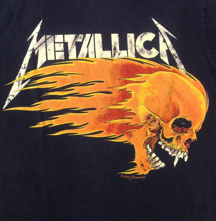 vintage METALLICA Tour Shirt 1994 Pushead by CrippleCreekVintage