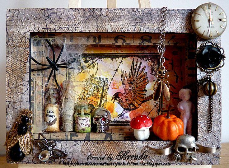 halloween diorama - Halloween Diorama Ideas