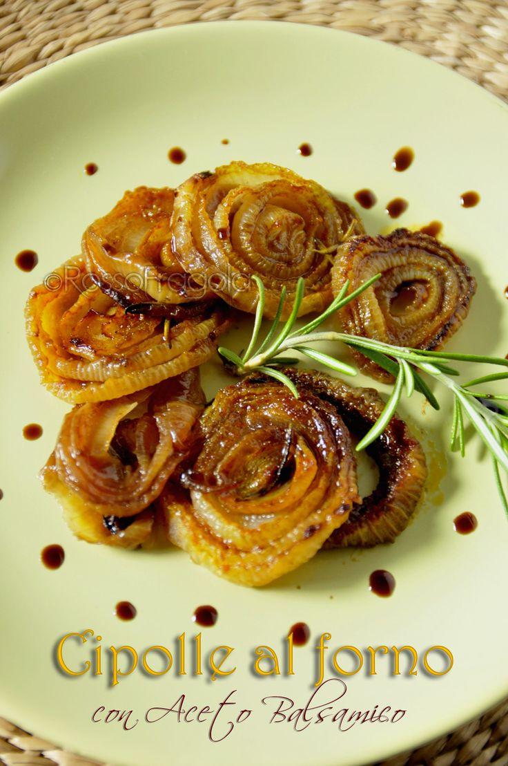 Cipolle con Aceto balsamico - ricetta light