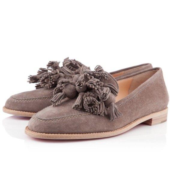 Christian Louboutin Zapato de barco gris
