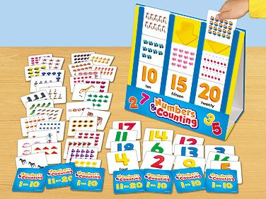 Numbers & Counting Activity Center: create this for number sense