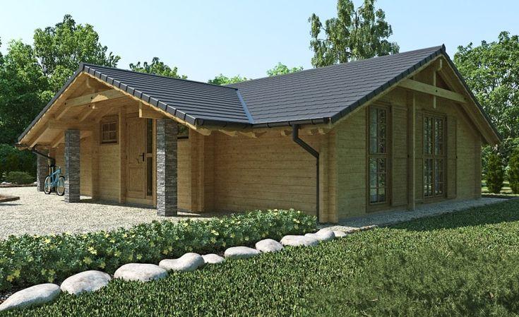 Proiect de Casa cu parter din lemn 379Proiecte de Case | Proiecte de Case