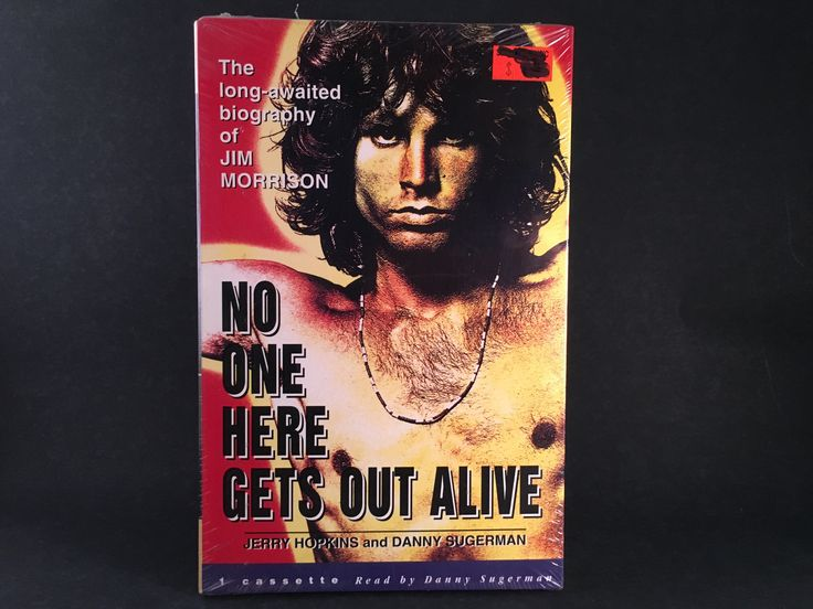 JIM MORRISON BIOGRAPHY - no one here gets out alive - BRAND NEW CASSETTE BOX SET