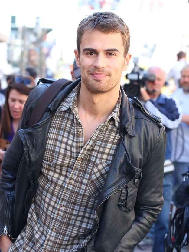 """Theo James is in it.   29 Extremely Important Reasons To Go See """"Divergent"""""""