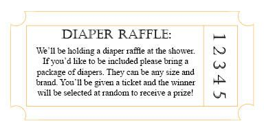 diaper raffle poem | Samantha and Jason asked if we could include a diaper raffle in the ...