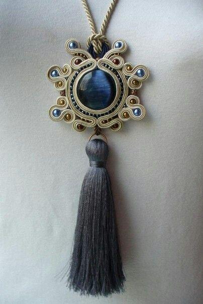.medallon de soutache