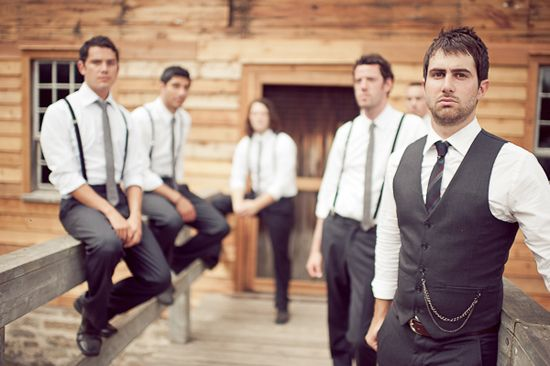 this is almost exactly how i picture the guys being dressed :D