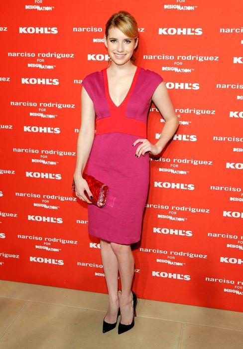 Emma Roberts at Narciso Rodriguez clothing launch