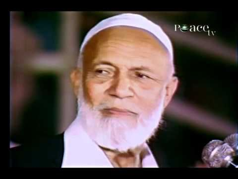 muhammad (pbuh) the natural successor to christ (pbuh) :: lecture by ahmed deedat - YouTube