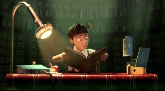 The Fantastic Flying Books of Mr. Morris Lessmore is a 2011 American animated short film directed by William Joyce and Brandon Oldenburg, an...